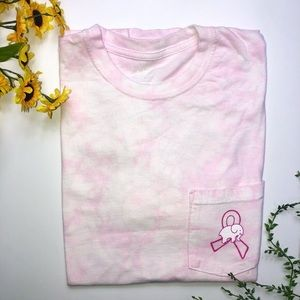 Ivory Ella pink breast cancer T-shirt